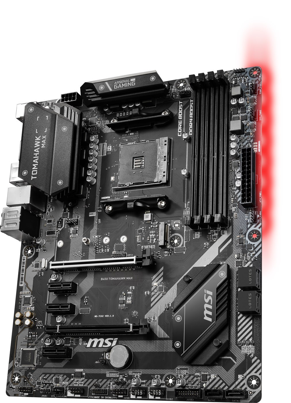 MSI B450 TOMAHAWK MAX AMD Socket AM4 Motherboard - B450 TOMAHAWK MAX