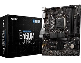 MSI B460M-A PRO Intel Socket 1200 Motherboard