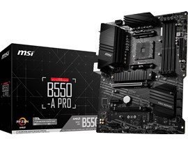MSI B550-A PRO AMD Socket AM4 Motherboard