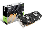 MSI Nvidia GeForce GTX 1060 6GT OC (6GB) Graphics Card GDDR5 PCI-E DisplayPort HDMI DVI