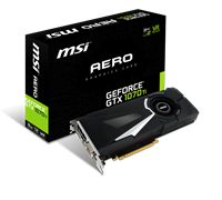 MSI GeForce GTX 1070 Ti AERO 8G (8GB) Graphics Card PCI Express 3.0 x16 DisplayPort/HDMI/DL-DVI-D *Open Box*