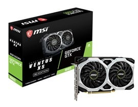 MSI GeForce GTX 1660 Ventus XS 6GB Graphics Card