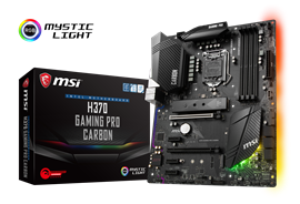 MSI H370 GAMING PRO CARBON Intel Socket 1151