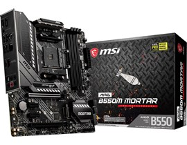 MSI MAG B550M MORTAR AMD Socket AM4 Motherboard