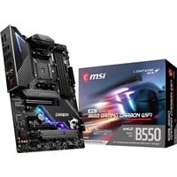 MSI MPG B550 GAMING CARBON WIFI ATX Motherboard for AMD AM4 CPUs