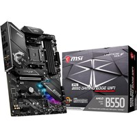 MSI MPG B550 GAMING EDGE WIFI ATX Motherboard for AMD AM4 CPUs