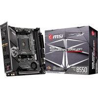 MSI MPG B550I GAMING EDGE WIFI ITX Motherboard for AMD AM4 CPUs