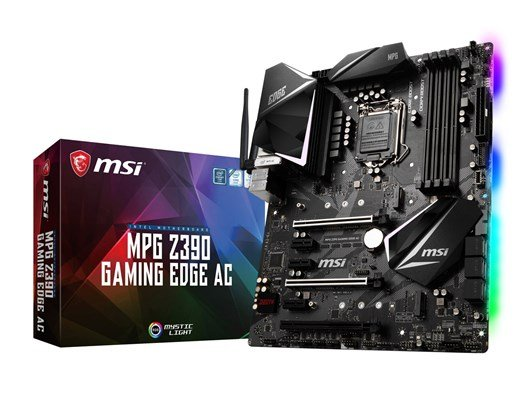 MSI MPG Z390 GAMING EDGE AC Intel Socket 1151 Z390 Chipset ATX Motherboard *Open Box*