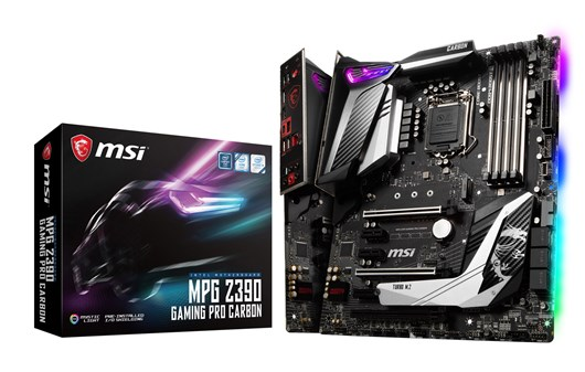 MSI MPG Z390 GAMING PRO CARBON Intel Socket 1151