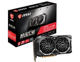 MSI Radeon RX 5600 XT MECH 6GB Graphics Card