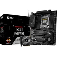 MSI TRX40 PRO WIFI ATX Motherboard for AMD TRX4 CPUs