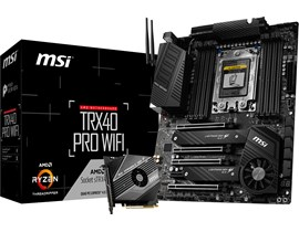 MSI TRX40 PRO WIFI AMD Socket sTRX4 Motherboard