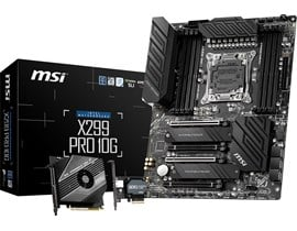 MSI X299 PRO 10G Intel Socket 2066 Motherboard