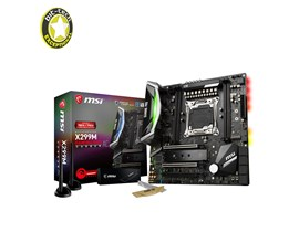 MSI X299M GAMING PRO CARBON AC Intel Motherboard