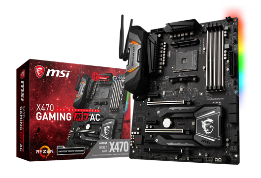 MSI X470 GAMING M7 AC AMD Socket AM4 Motherboard