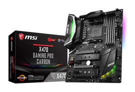 MSI X470 GAMING PRO CARBON AMD Motherboard