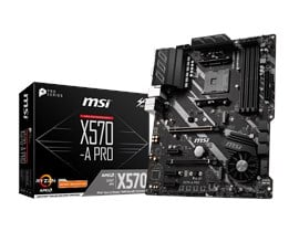 MSI X570-A PRO AMD Socket AM4 Motherboard