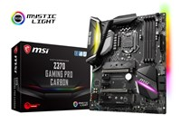 MSI Z370 GAMING PRO CARBON ATX Motherboard for Intel LGA1151 CPUs