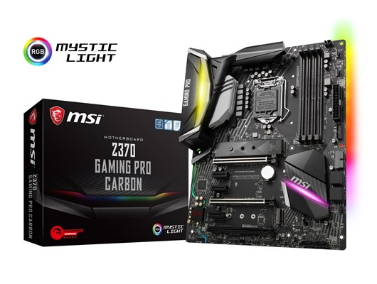 MSI Z370 GAMING PRO CARBON Intel Socket 1151 ATX Motherboard *Open Box*