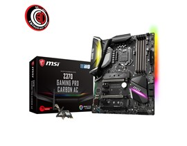 MSI Z370 GAMING PRO CARBON AC Motherboard 8th Gen Core/Pentium/Celeron Socket LGA1151 Z370 ATX RAID LAN WLAN BT (Onboard Graphics) *Open Box*