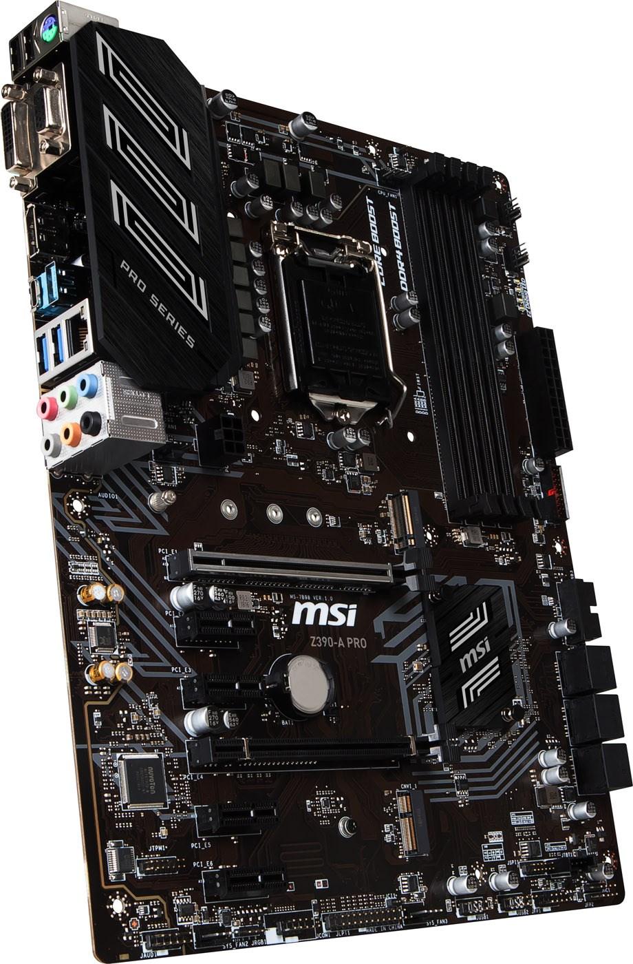 MSI Z390-A PRO Intel Socket 1151 Motherboard - Z390-A PRO | CCL