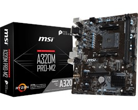 MSI A320M PRO-M2 AMD Socket AM4 Motherboard
