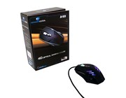Powercool JM-9032U Gaming Mouse 2500DPI Weight Adjustable Rubber Coating LED