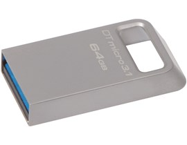 Kingston DataTraveler Micro 3.1 64GB USB 3.0 Drive