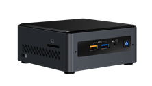 Intel Next Unit of Computing (NUC) Barebone Kit with integrated Intel Celeron J4005 Processor