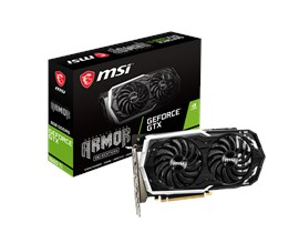 MSI GeForce GTX 1660 Ti ARMOR 6GB Graphics Card