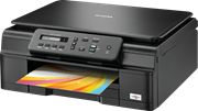 Brother DCP-J132W A4 Colour Inkjet All-in-One Wireless Printer (Printer/Copy/Scan)