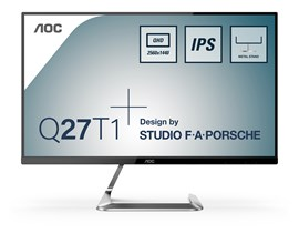 "AOC Q27T1 27"" QHD IPS 75Hz LED Monitor"