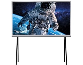Samsung The Serif 2019 (49 inch) 4K HDR Smart QLED Television (White)