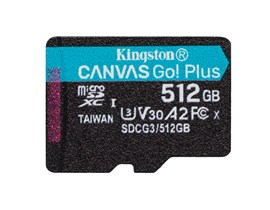 Kingston Canvas Go! Plus 512GB UHS-1 (U3)