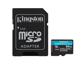 Kingston Canvas Go! Plus 64GB UHS-1 (U3)