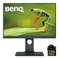 BenQ SW240 24.1 inch LED IPS Monitor - Full HD 1080p, 5ms, HDMI