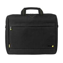 Techair 1204 Toploading Modern Classic Laptop Bag (Black) for 13 inch - 14.1 inch Laptops