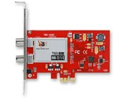 TBS 6281 Dual Freeview HD Low-profile PCIe TV Tuner Card DVB-T2