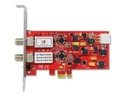 TBS 6982 Dual Satellite HD Low-profile PCIe TV Tuner Card DVB-S2