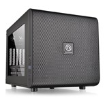 Thermaltake Core V21 USB 3.0 Micro-ATX Mid Tower Gaming Computer Chassis with Side Window