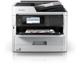 Epson WorkForce Pro WF-C5790DWF (A4) Colour Inkjet Printer (Print/Copy/Scan/Fax) 10.9cm Colour LCD 34ppm (Mono) 34ppm (Colour) 45,000 (MDC)