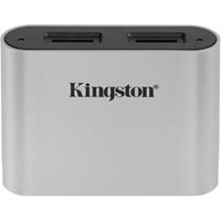 Kingston Workflow USB 3.0 Dual-Slot microSD Card Reader