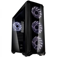 Zalman i3 Edge Mid Tower Gaming Case - Black USB 3.0