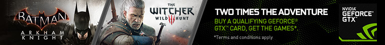 NVIDIA Witcher 3 Promotion GPU