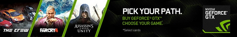 NVIDIA GeForce Pick Your Path