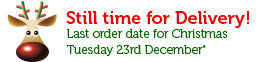 Xmas 2014 Last Order Tuesday 23rd Dec
