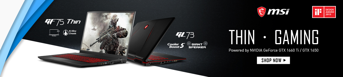 MSI Gaming 7th Gen Notebooks