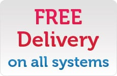 FREE Delivery on all systems