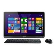 Acer Aspire ZC-107 (19.5 inch) All-in-One PC Quad Core E2 (6110) 1.5GHz 4GB 500GB DVD Writer WLAN BT Webcam Windows 8.1 64-bit with Bing (Radeon R2 Graphics)