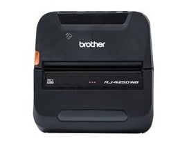 Brother RuggedJet RJ-4250WB (104mm) Mobile Thermal Printer with Bluetooth and Wifi